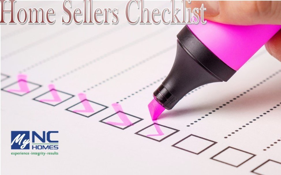 Home Sellers Checklist