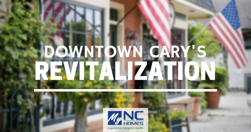 Downtown Cary's revitalization