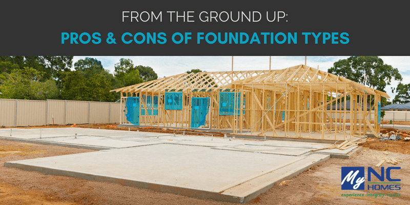 Triangle area real estate news information blog for Different foundations