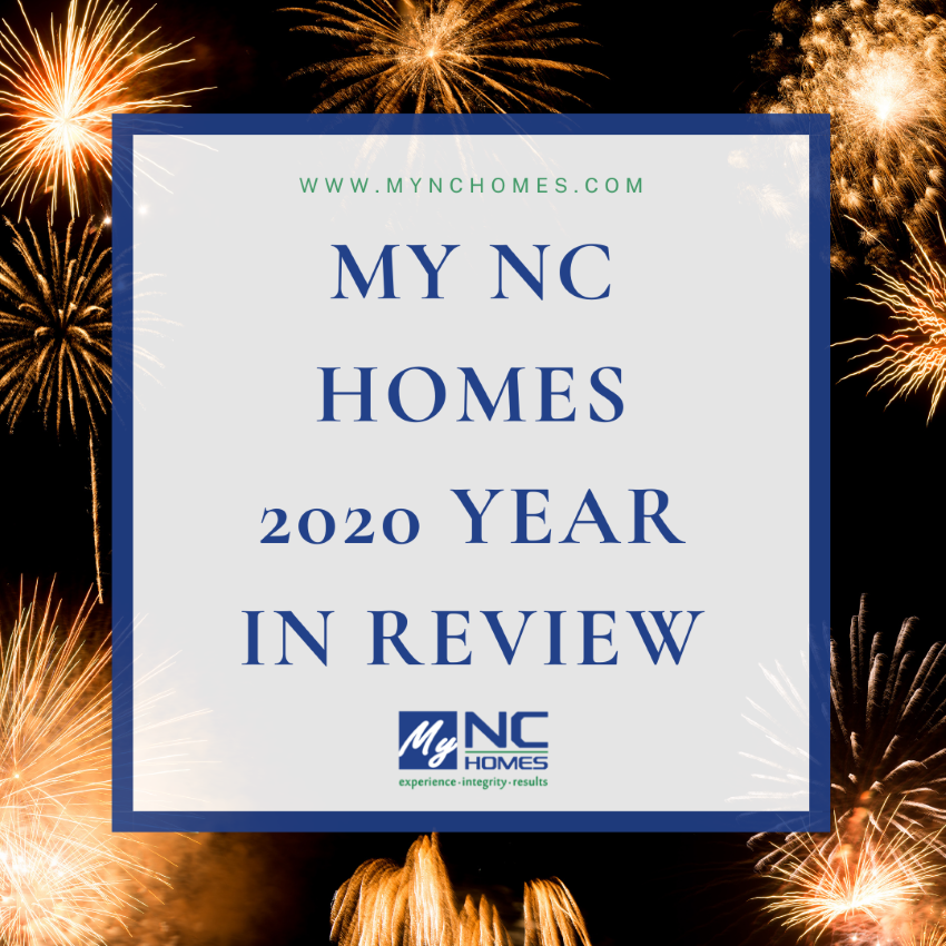 MY NC Homes 2020 Year in Review
