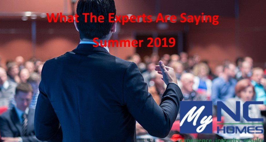 What Experts Are Saying Summer 2019
