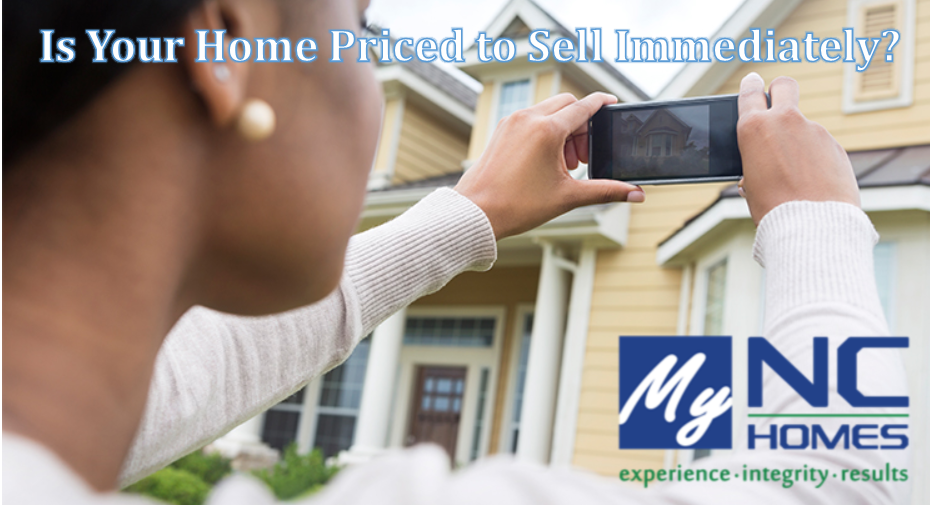 Is your home priced to sell immediately