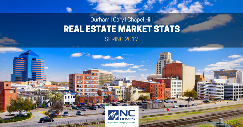 Durham, Chapel Hill, Cary real estate market update - Spring 2017