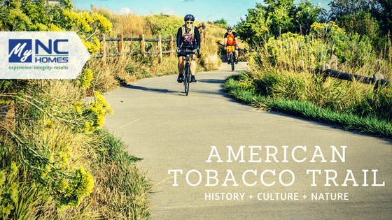 About the American Tobacco Trail, Durham NC