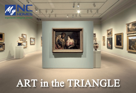 art in the triangle region: Chapel Hill, NC