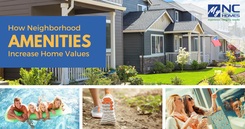 Community Amenities Increase Home Values