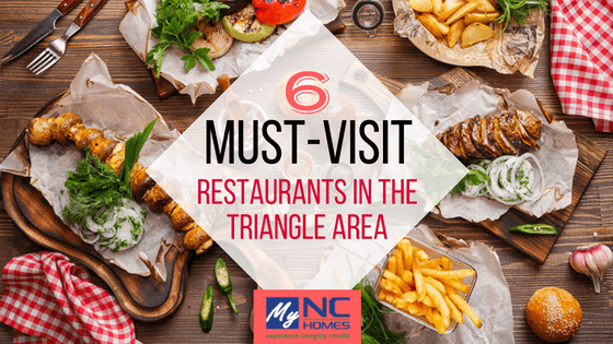 Good restaurants in the Triangle Area