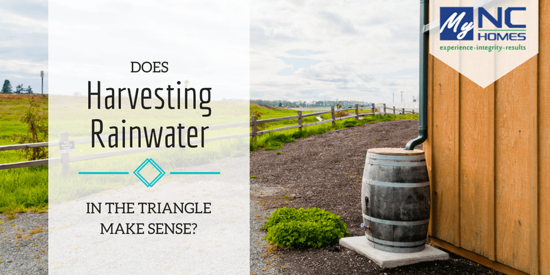 rainwater harvesting in durham, cary, and chapel hill
