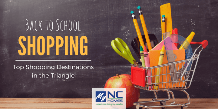 Best back to school shopping in the Triangle, NC