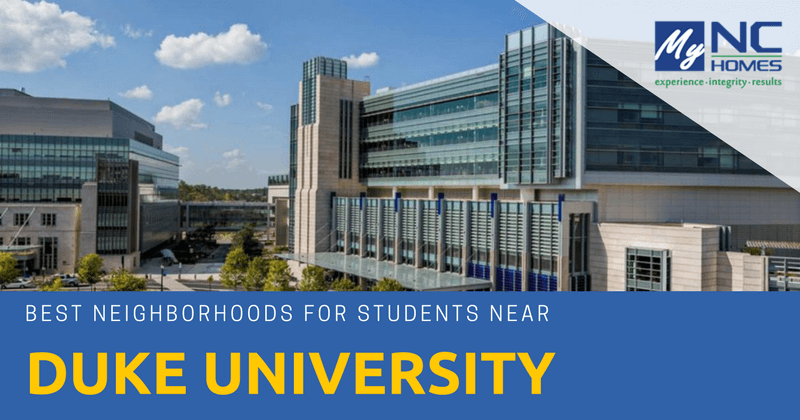 best neighborhoods for students near duke university