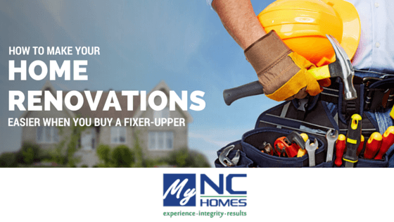 Buying a home to renovate in the Triangle Area