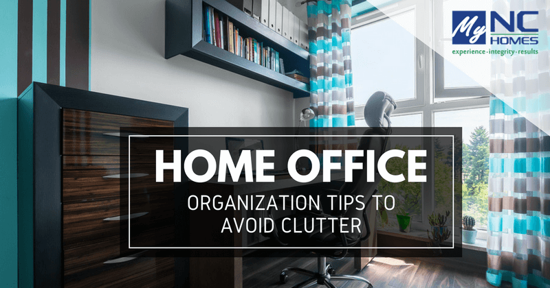 tips to declutter your home office
