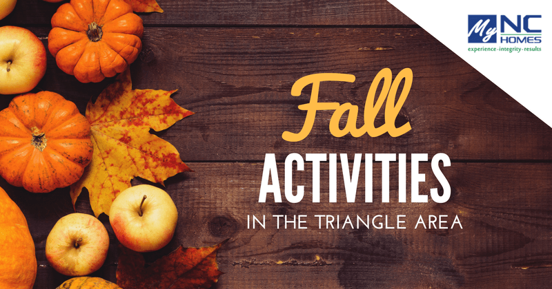 fall activities in the triangle area this october